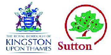 The Royal Borough of Kingston and London Borough of Sutton logo