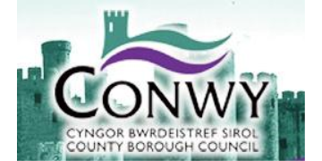 Conwy County Borough Council logo